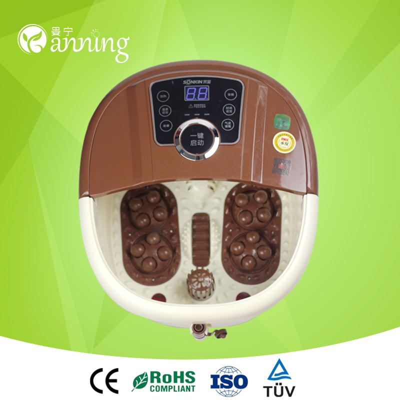 Great gifts ionic cleanse foot steam bath,professional life massager,massager with foot bath