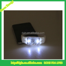 Hot sale led silicone wristband silicone bracelet with motion sensor LED light Bracelet