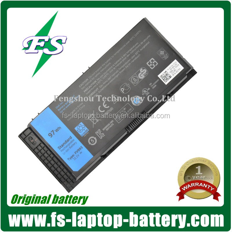Original Li-ion M6600 Laptop Battery For Dell M6600 0TN1K5DP / N 0 TN1K5 FV993 PG6RC R7PND