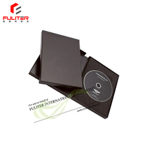 Custom luxury unique cd dvd packaging cardboard gift box
