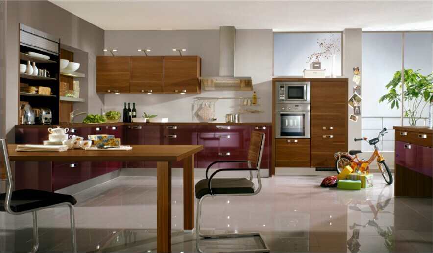 Ready made moistureproof kitchen cabinet with different for Best ready made kitchen cabinets