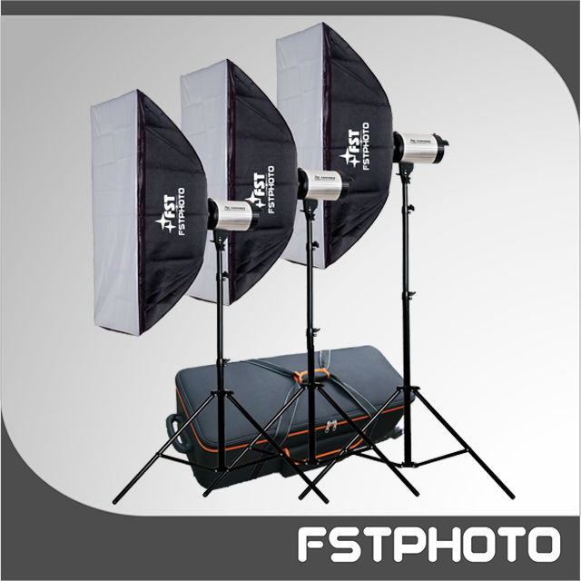 New Launched softbox studio lighting With Trolley Case