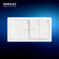 10A gang electric wall switch with metal EAC certificate