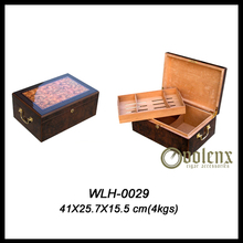 High Gloss Finish Customized Luxury Wood Cigar Box Humidor