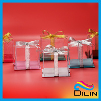 Big Totally Transparent Cake Box With