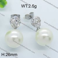 Popular Products In USA Custom Design Jewelry micro pave silver earring rain drop shape