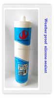 White color neutral cure weather proof silicone sealant