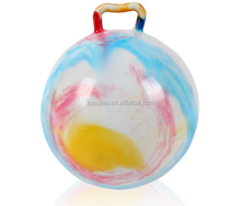 inflatable toy bouncing ball pvc jumping ball with handle for kids