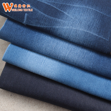 "62/63"" 11oz super dark blue lycra nylon spandex denim fabric for jeans"