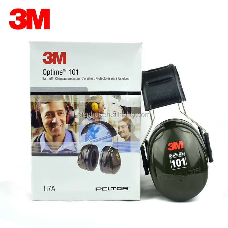 3M H7A earmuffs 3M Peltor Optime 101 Over-the-Head Earmuffs/Hearing Conservation 3M safety earmuff