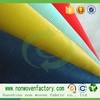 Sunshine colorful spunbonded non-woven fabric fabricas de tela