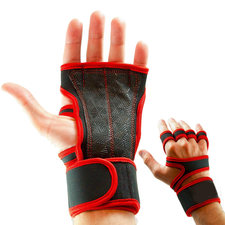 Hot Sale Competitive Price Customized Fashion Fingerless Cross Fit Training Gloves