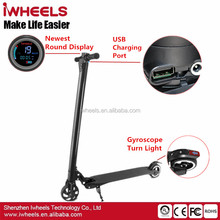 2017 New Exquisite LG Samsung Battery Shock Absorber Optional Citycoco Two Wheels Electric Scooter Foldable