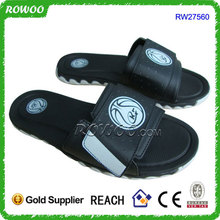 Black and White Men Gender and PU Slide Sport Men Sandal