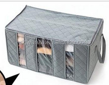 Foldable Storage Bag Clothes Blanket Closet Sweater Organizer Box