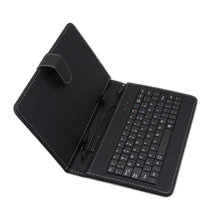 new arrival 80 keys black universal 7 inch tablet case with keyboard tablet stand case
