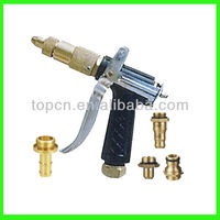 High pressure metal car wash water spray gun