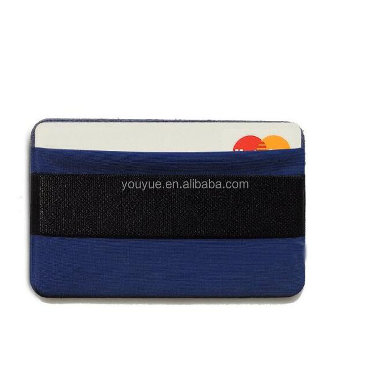 Phone Grip, Card Holder, Stick-on Wallet functioning as Cell Phone Wallet Case