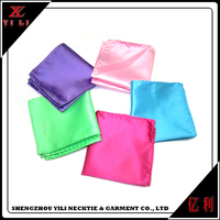 Women beautiful cheap soft small handkerchiefs