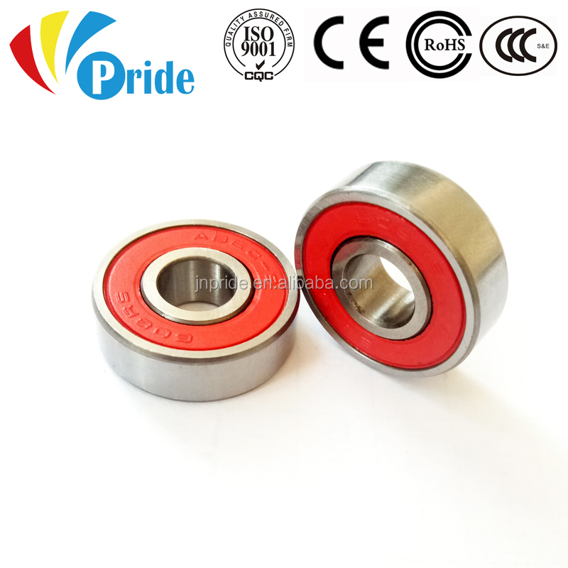 High Speed Miniature ABEC9 Micro Deep Groove Ball Bearing 608 2RS 608RS 608-2RS with Rubber Seals
