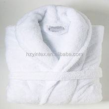 Cheap Promotional Cotton Terry Unisex Hotel/SPA Bathrobe