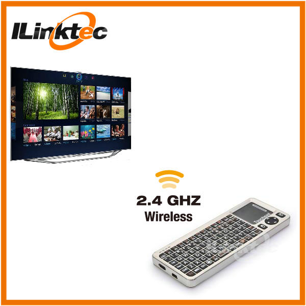 ILINKTEC Mini bluetooth wireless keyboard for nook hd 9