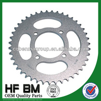 factory sell directly sprocket, Motorcycle sprocket kit, YBR125 chain sprocket, YBR125ED 43t,14t,428h,118l