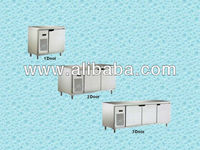 Powerful Cooling Stainless Steel Counter Chiller or Freezer | Commercial Refrigerator