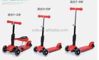 2016 Fun Toys Cheap 3 Wheel Kids Kick Mini Scooter