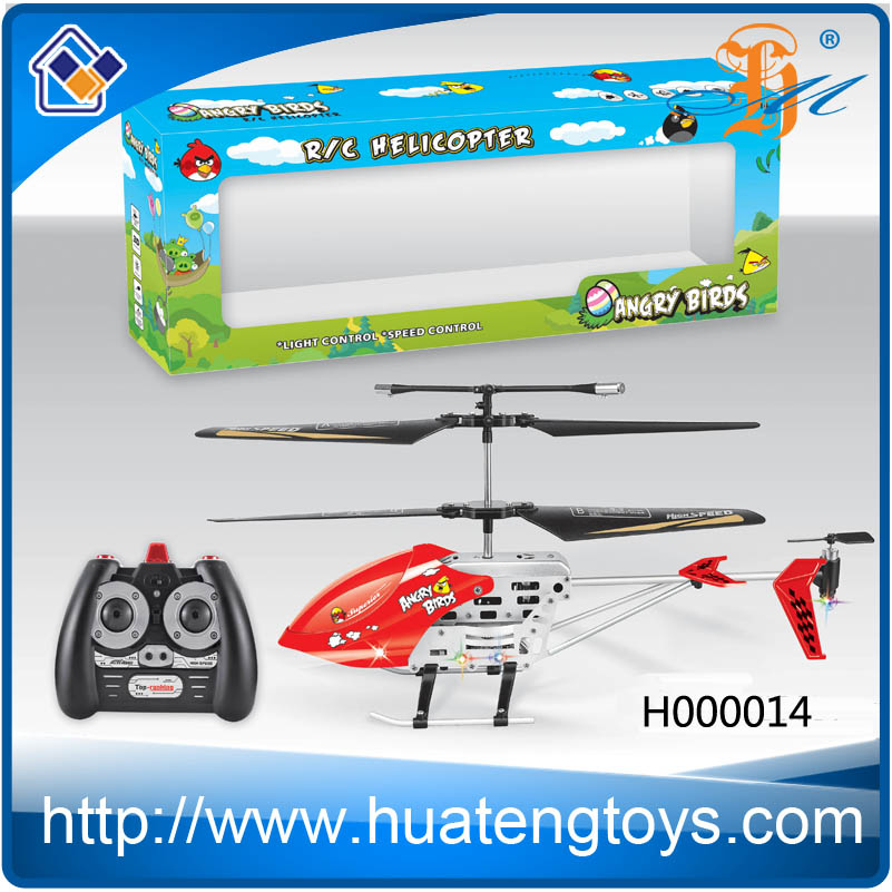 3.0 CH long distance infrared rc airsoft helicopter with gyro for sale for 2014
