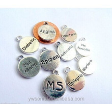 wholesale jewelry fashion medical alert charms wholesale