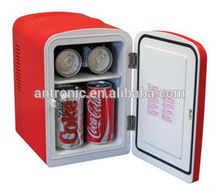 Antronic 4L mini fridge car fridge AC/DC version portable cooler warmer box