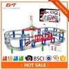 Amazing battery operated racing car track set with music