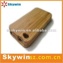 Real Genuine Natural Bamboo Wood Wooden Hard Case Cover For iPhone 4 4S 4G