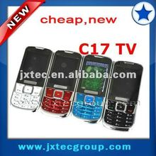 C17 low end phone cheap unlocked phones with tv