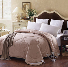 2015 china wholesale high quality camel wool thick comforter of winter