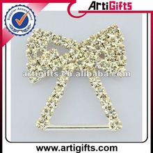 clothes decorative buckle with rhinestone