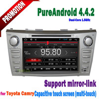 Hot selling android car pc for toyota camry year 2007 2008 2009 2010 2011with wifi gps bt 3G radio dvd tv tontek