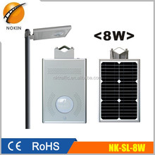 8W countryside manufacturers solar street lights