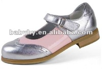 high heel children leather school shoes BH CS066V