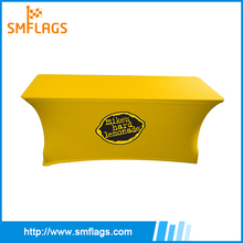 Nice wholesale outdoor printed elastic table cover for advertising