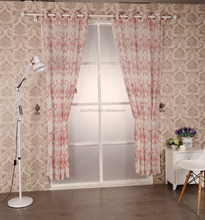Latest American Style Curtain For Living Room Embroidery Sheer