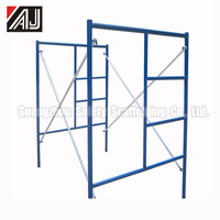 Guangzhou Factory Types of Ladder and H Frame Scaffolding For Sale