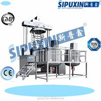 Sipuxin Speed vacuum emulsifying machine baby skin whitening face cream mixer