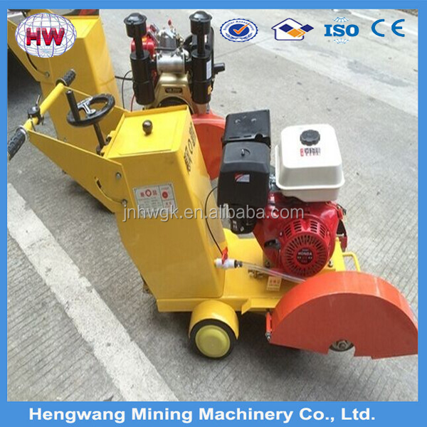 Walk behind concrete road cutter/ concrete saw cutter