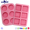 Custom High Quality Baking Tool Round Cake Mold Silicone