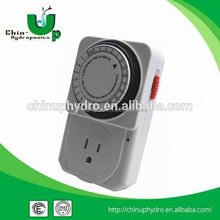 Hydroponic Mini Grow Light Timer/Mechanical Switch Timer/24 Hour Timer Switches Coin Operated
