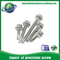 Hexagon Head Self Drilling Galvanized Roofing Screw