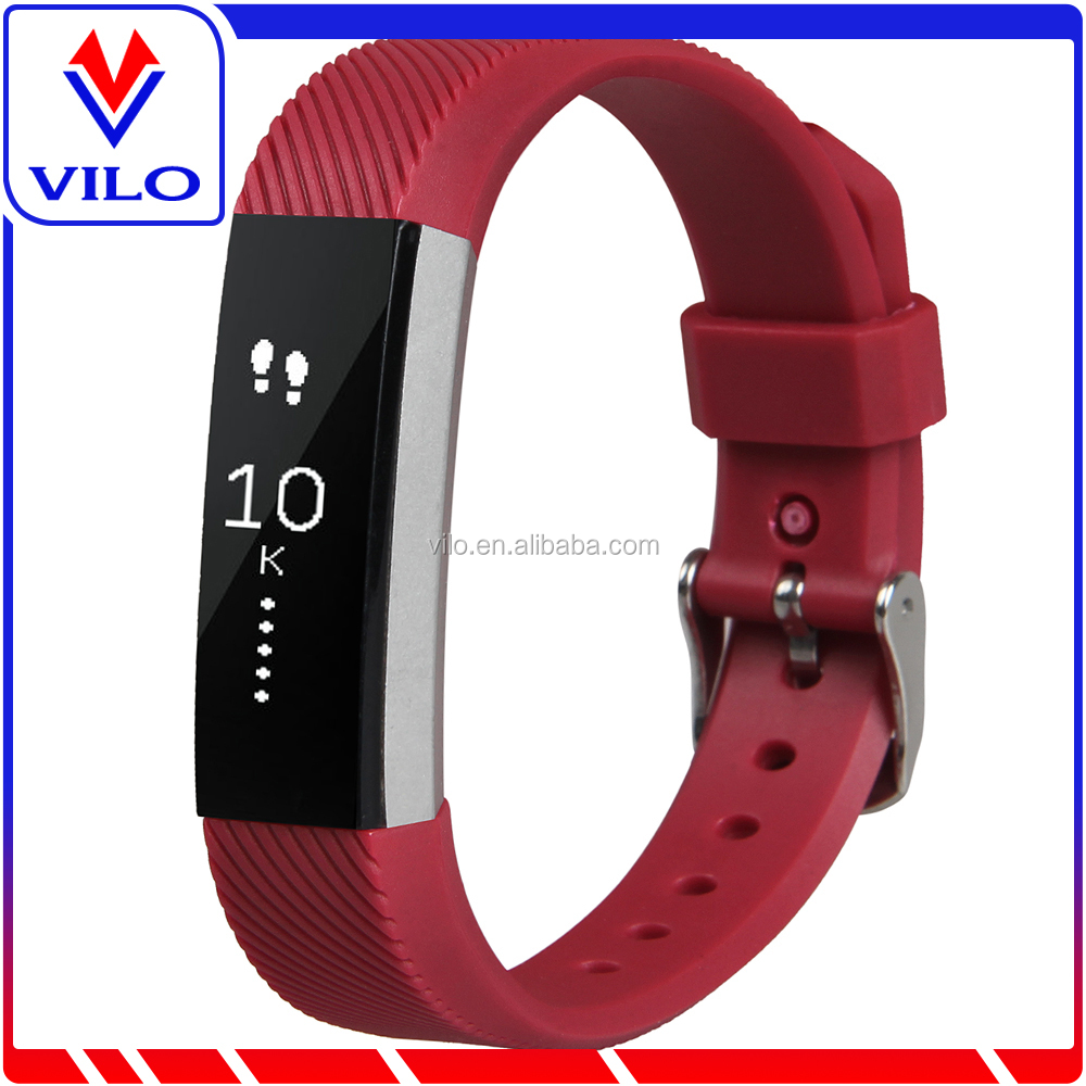Unisex Rubber Wrist Watch Band For Fitbit Alta HR March