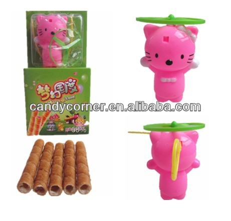 Toy With Egg Roll Cream Biscuit